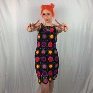 H & M Coachella Crochet Tank Dress NWT